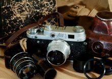 Почтовая открытка Набор фотографа