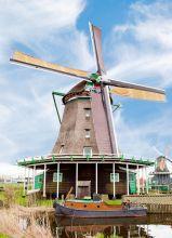 Почтовая открытка Мельница. Нидерланды