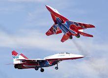 """МиГ-29. Пилотажная группа """"Стрижи"""""""