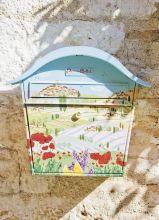 Почтовая открытка Почтовый ящик. Сен - Поль - де - Ванс