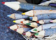 Почтовая открытка Деревянные карандаши