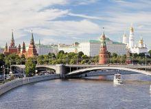 Почтовая открытка Панорама Москвы
