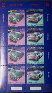 Почтовая открытка Monaco - Совместный выпуск с Россией