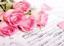 Цветы и музыка