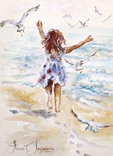 Почтовая открытка Моё море